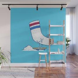 Lost Sock Skater Wall Mural