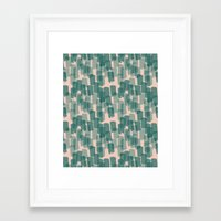 the strokes Framed Art Prints featuring Strokes by Karin Ohlsson