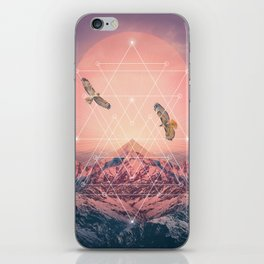 Find the Strength To Rise Up iPhone Skin