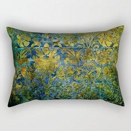 Grunge damask Rectangular Pillow