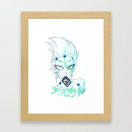 yu-gi-oh zexal: astral Framed Art Print