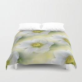 flowers -10- seamless pattern Duvet Cover
