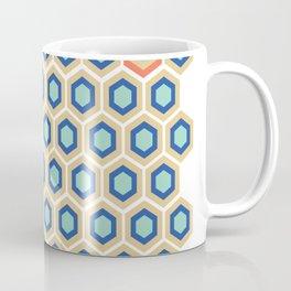 Digital Honeycomb Coffee Mug