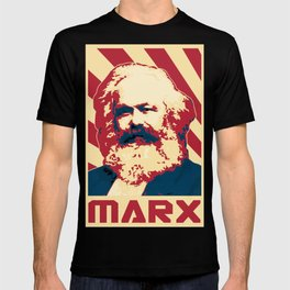 Karl Marx Retro Propaganda T-shirt
