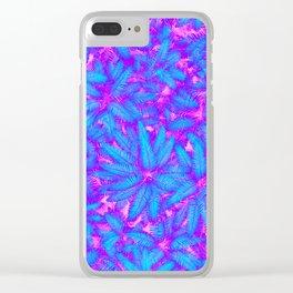 Jungle Heat Clear iPhone Case