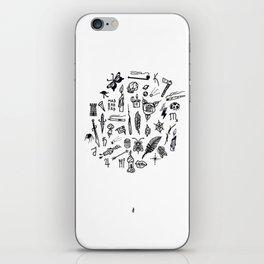 prison tatts iPhone Skin