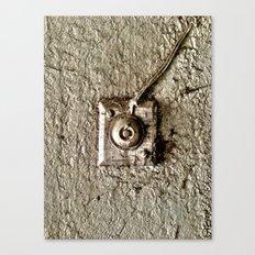 Vintage Doorbell Canvas Print