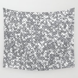 Sharkskin Pixels Wall Tapestry