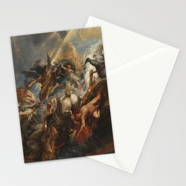 The Fall of Phaeton Oil Painting by Sir Peter Paul Rubens Stationery Cards