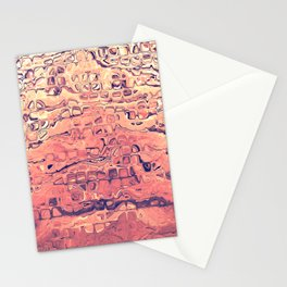 Layers of Sand Stationery Cards