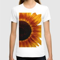 sunflower T-shirts featuring Sunflower5 by Regan's World