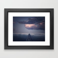Without a Road Map Framed Art Print