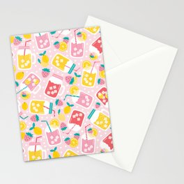 Pink Lemonade Stationery Cards
