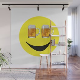 Happy Hour Face Wall Mural