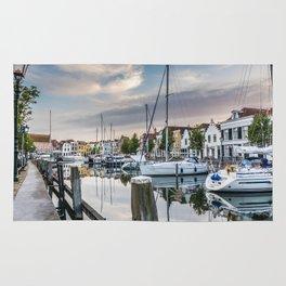Dutch harbour Rug