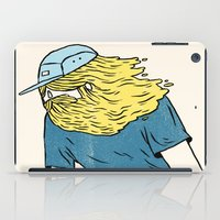skate iPad Cases featuring Skate Beard by Chase Kunz