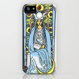 High Priestess Tarot iPhone Case