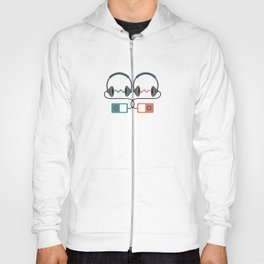Headphones Pattern Hoody