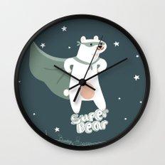 superbear Wall Clock