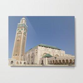 Hassan II mosque - Casablanca Metal Print