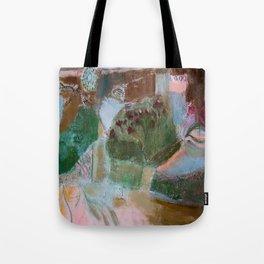 Floral landscape Tote Bag