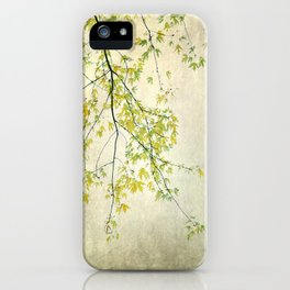 wake me up when september ends iPhone Case
