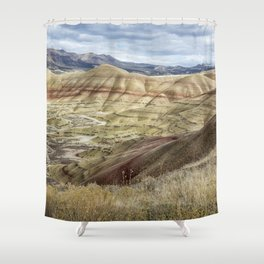 The HIlls are Alive with Color Shower Curtain