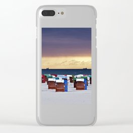 A STORM IS COMING - BALTIC SEA Clear iPhone Case