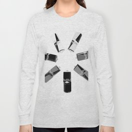 Gives you Wings Black And White Long Sleeve T-shirt