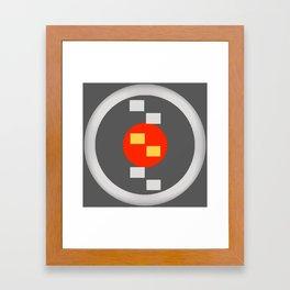 Orange Center Framed Art Print