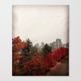 Beauty of Fall / Autumn : Vancouver Canvas Print