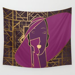 Art Deco Graphic No. 159 Wall Tapestry