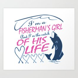 Fisherman's Girl Art Print