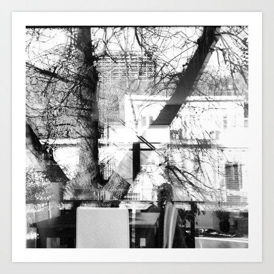 Unperfect reflexion Art Print
