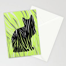 Cat in Grass Stationery Cards