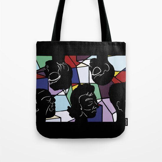 """""""In Our Heads"""" by Virginia McCarthy Tote Bag"""