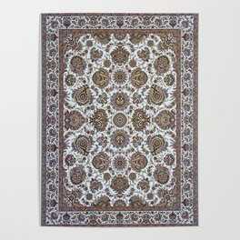 Antique Persian Rug Poster