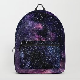 The Milky Way Midnight Blue & Purple Backpack