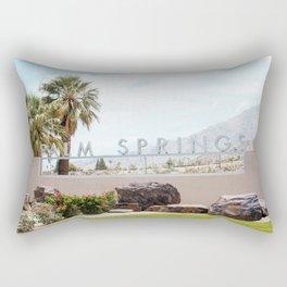 Palm Springs California Rectangular Pillow