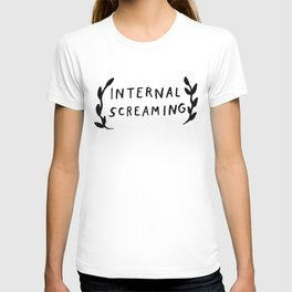 Internal screaming T-shirt