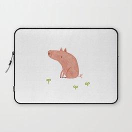 Sitting Pig Laptop Sleeve