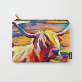 Highland Cow 4 Carry-All Pouch