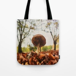 As low as the leaves, as tall as the trees Tote Bag