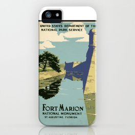 Fort Marion National Monument, St. Augustine, Florida iPhone Case