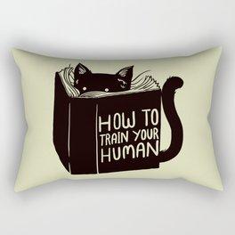 How To Train Your Human Rectangular Pillow