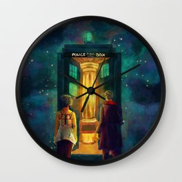 The Doctor, Bill and the kitchen Wall Clock