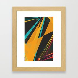 Linez Framed Art Print