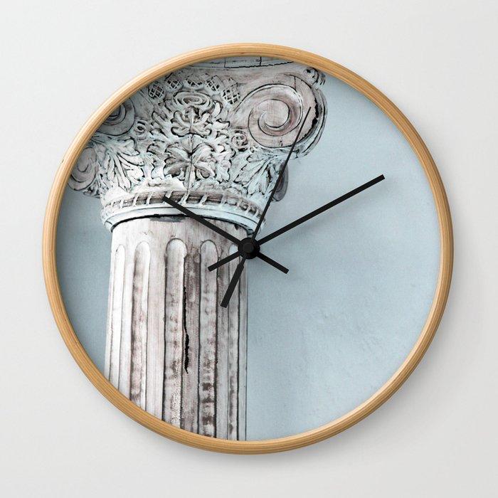 Corinthian capital Wall Clock