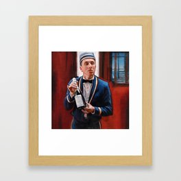 Champagne? - Tim Roth And Four Rooms Framed Art Print
