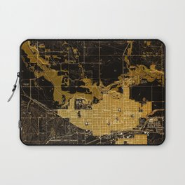 Marshalltown antique map year 1960, united states old maps Laptop Sleeve